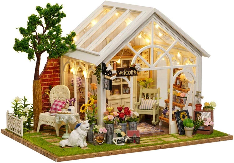 servicio honesto Kit de casa de muñecas muñecas muñecas en miniatura Casa de muñecas en miniatura con muebles de madera DIY Kit de casa de muñecas 1 24 Escala Creativa Habitación Idea Día de San Valentín Presente Regalos para mujeres  promociones emocionantes
