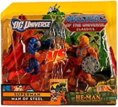 DC Universe & Masters of the Universe Classics Exclusive Action Figure 2Pack Superman Vs. HeMan