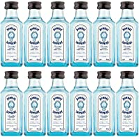 Bombay Sapphire London Dry Gin 5cl Miniature - 12 Pack