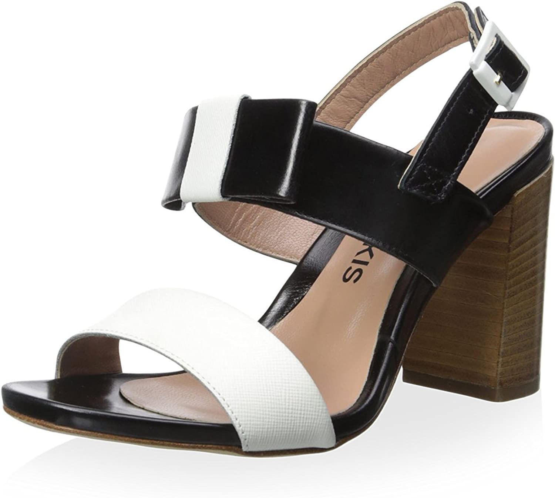 Chaniotakis Damen Sandale mit Schleife
