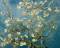 ゴッホ・「アーモンドの花樹」 プリキャンバス複製画・ 【立体仕上げ】(6号サイズ)