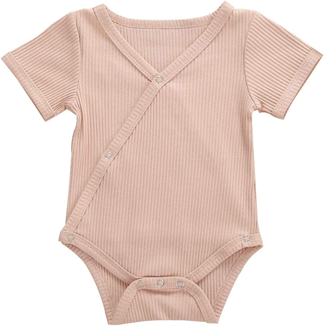 TFFR Newborn Max 43% Dallas Mall OFF Baby Girl Clothes Boy Jumps Knit Solid Rompers