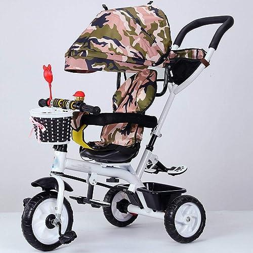 popular Triciclo de Niños Bicicleta Bicicleta Bicicleta de bebé Cochecito de bebé Asiento giratorio 1-3-5 Niños Bicicleta,E  Con precio barato para obtener la mejor marca.