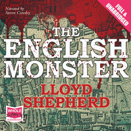 The English Monster audiobook cover art