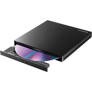 I-O DATA 外付け DVDドライブ 薄型 ポータブル USB3.2 Gen1 (USB3.0) 国内メーカー バスパワー Win Mac EX-DVD04K