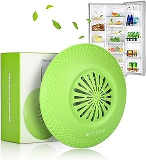 DoubleCare Déodorant pour réfrigérateur, éliminateur d'odeurs de réfrigérateur UFO réutilisable, purificateur de désodoris...
