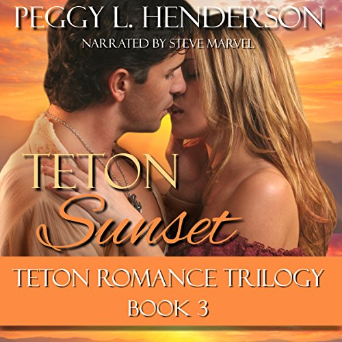 Teton Sunset audiobook cover art