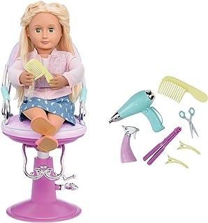 Our Generation Salon Chair Purple - Hearts