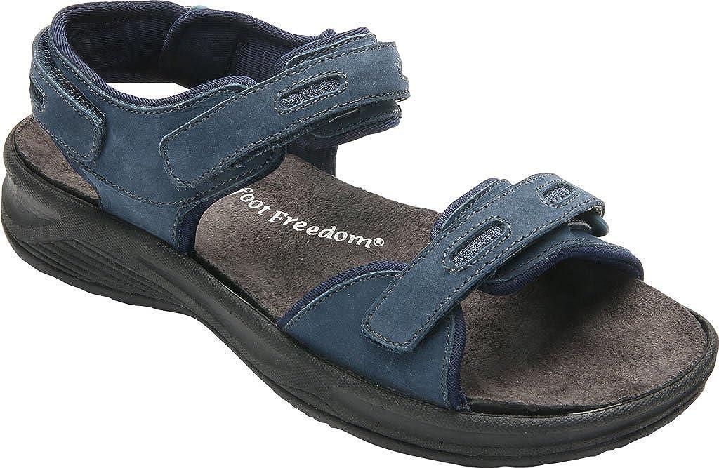 Drew Cascade Women's Sandal 10.5 2A(N) US Navy-Nubuck