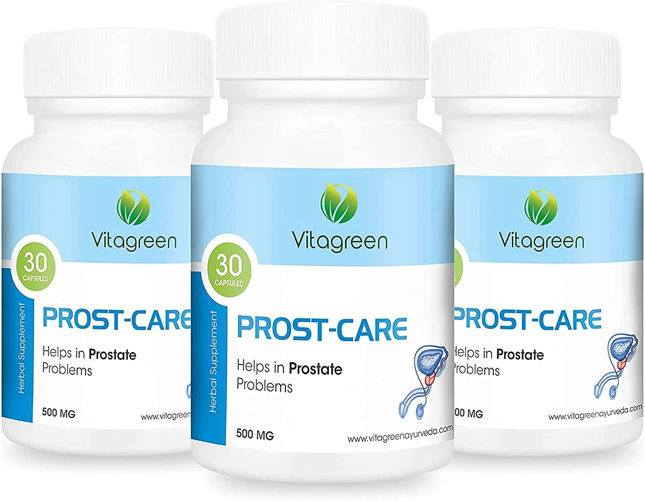 Litton Limited time sale VitaGreen PROSTCARE for free Prostate 500 Problems mg Cap 90