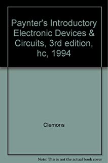 Paynter's Introductory Electronic Devices & Circuits, 3rd edition, hc, 1994