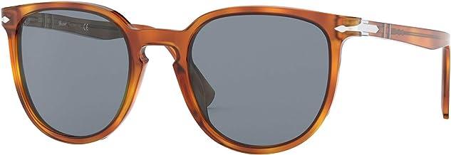 Persol PO3226S 96/56 Terra Di Siena PO3226S Round Sunglasses Lens Category 3 Si