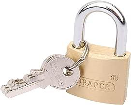 Draper 8302//40//KA Lot de 6 Cadenas /à cl/é Cuivre//acier durci 40 mm