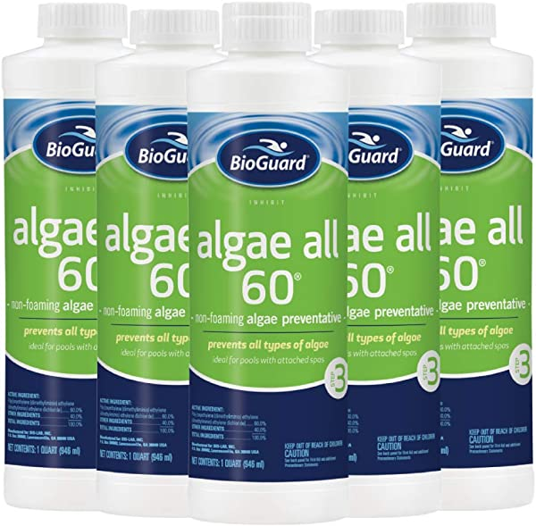 BioGuard Algae All 60 1 Qt 6 Pack