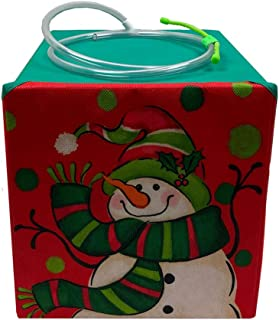 UpBloom Santa's Tree Helper Gift Box for Christmas | Automatic Watering System Looks Like a Present to Keep Your Live Tree Green Throughout The Holiday Season