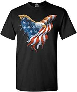 Eagle USA Flag T-Shirt 4th of July Shirts