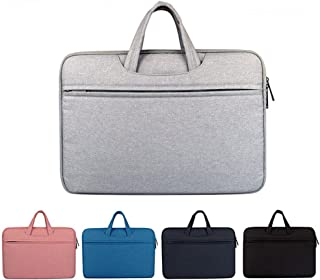 Djyyh Oxford Cloth Laptop Handbag Briefcase Bag Satchel Tablet Bussiness Carrying Sleeve Case Protector for Women Men (Color : Gray, Size : 12inch)