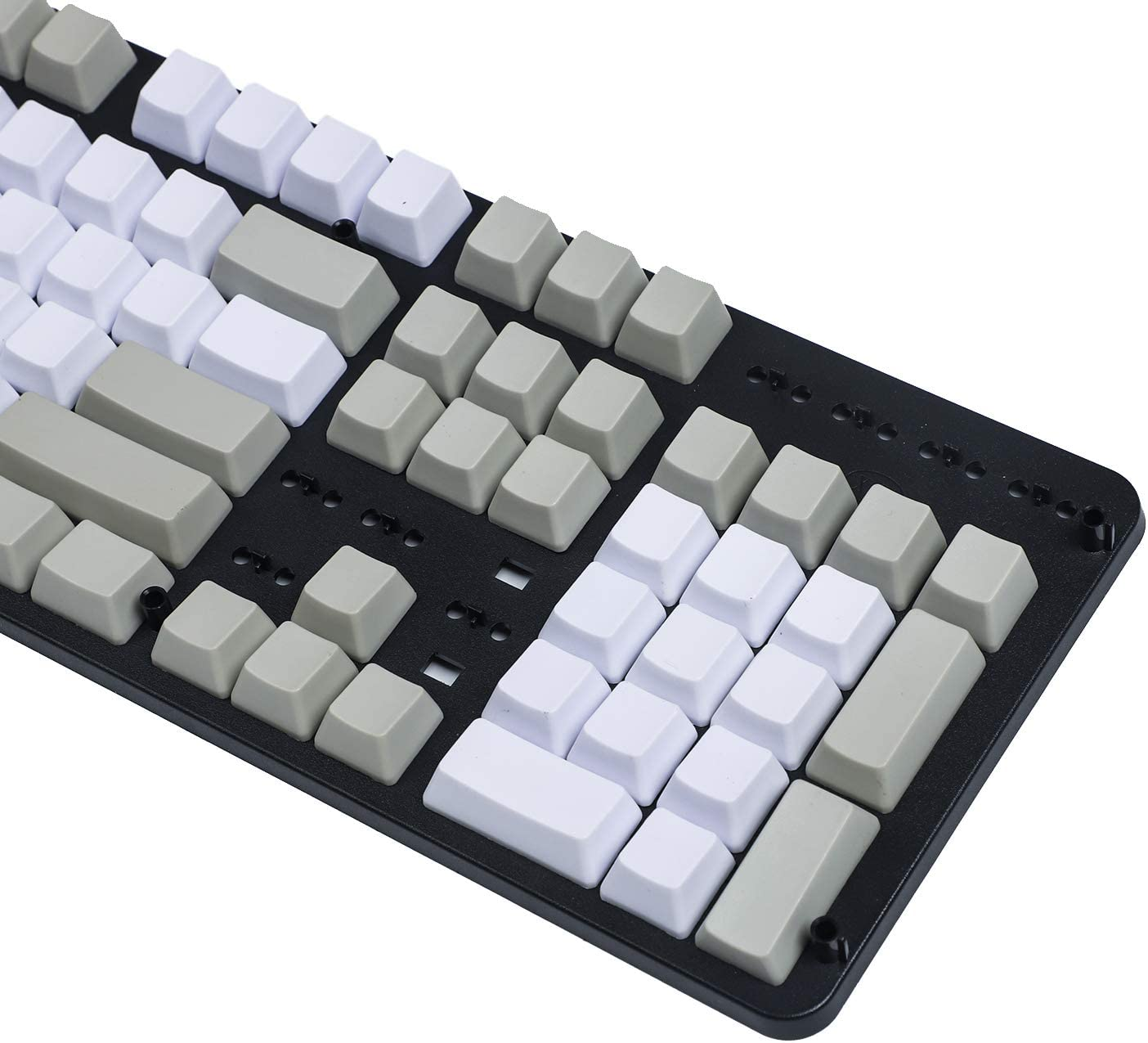 Blank Thick PBT OEM Profile 108 ANSI Keycaps for MX Switches Mechanical Keyboard Pink Only Keycap