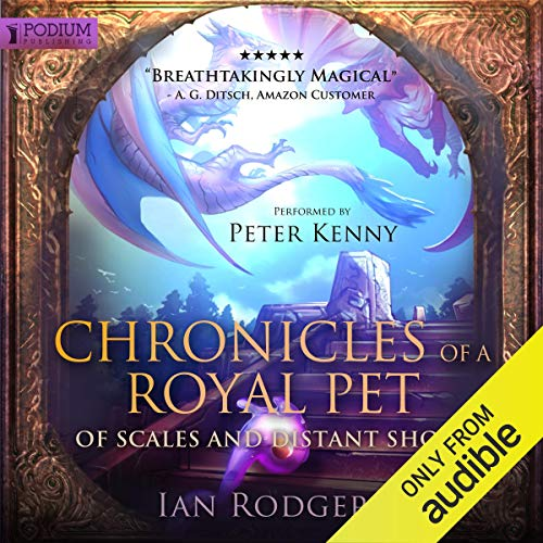 Chronicles of a Royal Pet: Of Scales and Distant Shores Titelbild