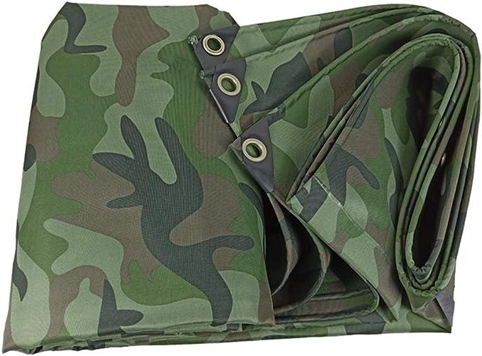 TOASD Couverture imperméable de bache de Camouflage épaissie pour auvents de bache, Camping, abris d'auto, Meubles, revêtements de Sol, VR, éléments de réparation de Piscine ou de Toit