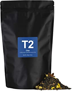 T2 Tea Chai Loose Leaf Black Tea in Resealable Foil Refill 250 g, 1 x 250 g