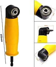 Adaptador de ángulo recto para destornillador eléctrico con cambio rápido magnético de 1/4