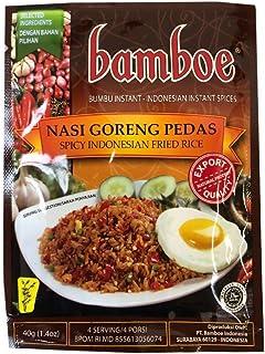 Bamboe Bumbu Nasi Goreng Pedas 40gr - Spicy Indonesian Fried Rice (Pack of 1)