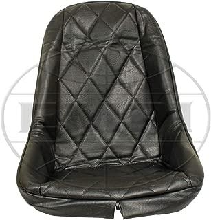 Empi 3880 Black Vinyl Low Back Bucket Seat Cover. Dune Buggy Vw Baja Bug, Each