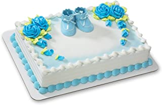 Best baby boy booties cake topper Reviews