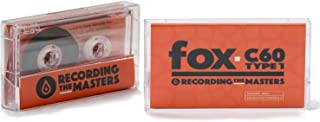 Recording The Masters FOX C60 TYPE 1 Audio Cassettes [Box of 10]