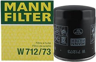 MANNFILTER 曼牌滤清器 机油滤清器W712/73(B70/睿翼/福克斯/致胜/蒙迪欧/马自达3 6 8/MPV/MX-5)