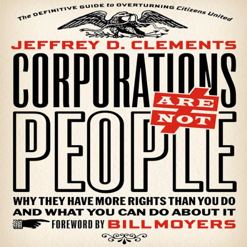 Corporations Are Not People audiobook cover art