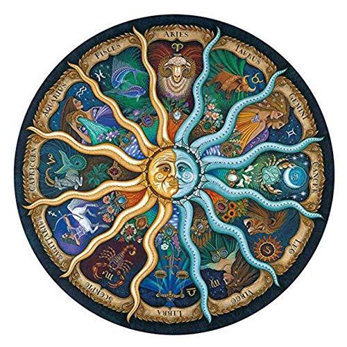 Paisaje Puzzle 500 Piezas del Zodiaco del horóscopo del Rompecabezas de la colección DIY Papel Rompecabezas decoración del hogar