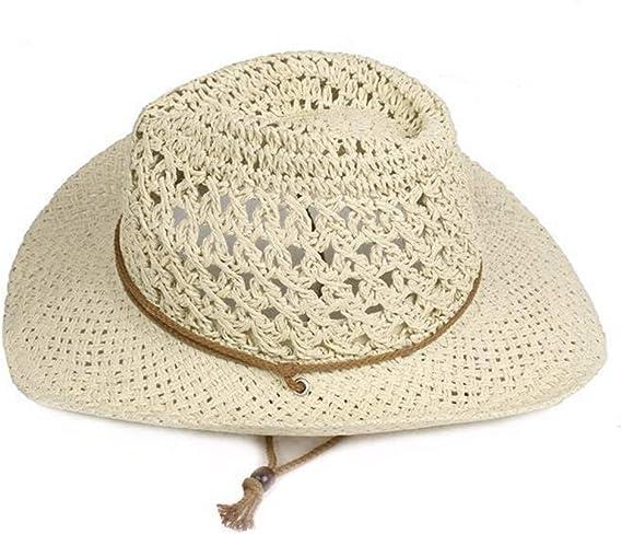LOPILY Gorra de Sol de ala Ancha Unisex Color Sólido Sombrero ...