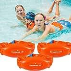 (3 Pack) Swim Belt for Kids Adults, Buoyancy Belt,...
