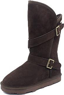 K.Signature Womens Bigtime Australian Sheepskin Winter Boots