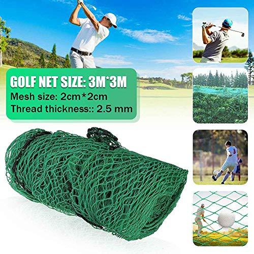 yummyfood Golfnetz Golf Übungsnetz Golf Chipping Netz Schlagnetze Für Golf, Baseball, Fußball, Tennis, Garten, 300x300cm