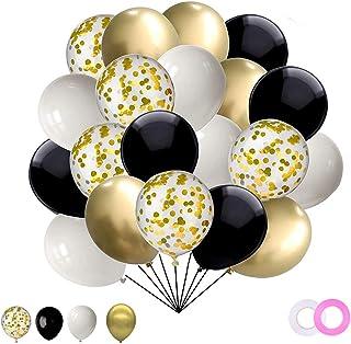 Globos Confeti de Oro Rosa Globos de Helio Globos, Oro Champán Globos de helio Globos de látex de Oro Rosa Globos de fiesta de Decoraciones de fiesta de cumpleaños