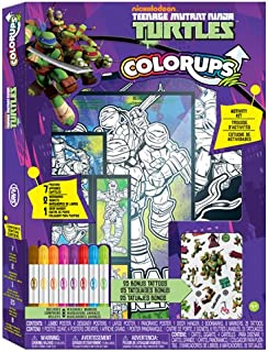 Teenage Mutant Ninja Turtles Savvi MEGA ColorUps Art Kit