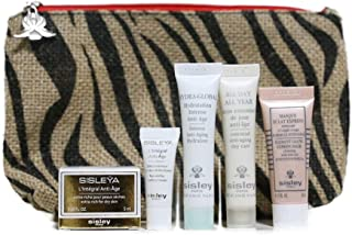 Deluxe Traveller Set Sisley L'integral All day all year Hydra global Radiant glow express mask in pouch (pouch color may vary)
