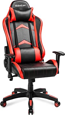 Brilliant Amazon Com Ofm Ess 6065 Red Racing Style Gaming Chair 44 Uwap Interior Chair Design Uwaporg