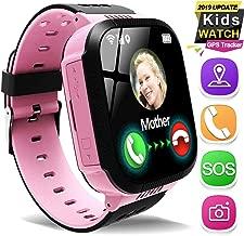 Kids Smart Watch Phone GPS Tracker for 3-12 Years Girls Boys 1.44