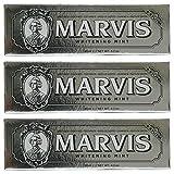 Marvis Zahncreme Whitening Mint 85ml, 3er Pack (3 x 85ml)