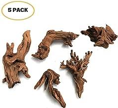 5Pcs Driftwood Branches Aquarium Wood Decoration Natural Fish Tank Habitat Decor Wood for..