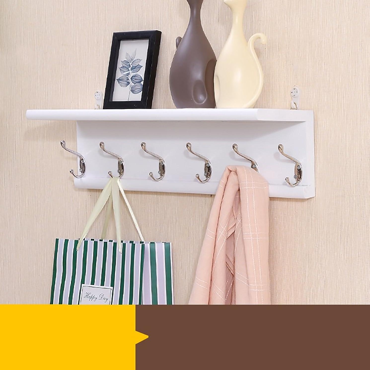 ムスタチオ推定ボイドコート洋服ラック ウォールコートラック、棚、タオル、帽子、スカーフ、ディスプレイシェルフ用の棚に壁掛け収納 (Color : 3)