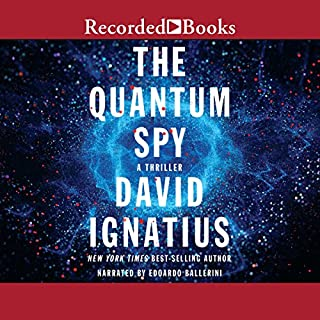 The Quantum Spy audiobook cover art