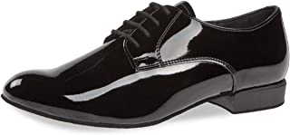 Diamant Uomini Scarpe da Ballo 179-025-038 - Vernice Nero - Comfort - 2 cm Standard - Made in Germany