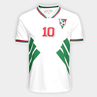 Camiseta Bulgária 1994 Retrô Times Masculina - Branco - M
