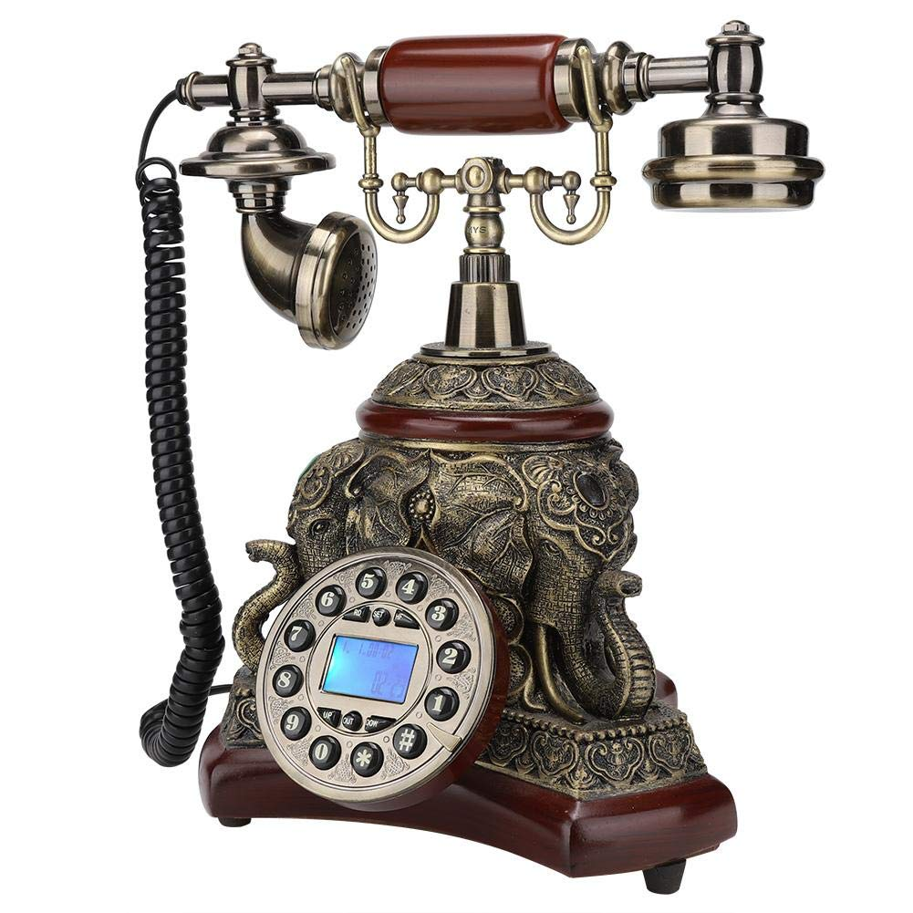 Antique Phone Corded Classic Antique Style Old Fashioned Home Telephone Set Land Line Phone Home Telephone Vintage Decorative Telephones For Home Decor Buy Online In Dominica At Dominica Desertcart Com Productid 190069734
