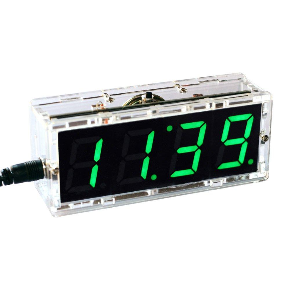 KKmoon Compact 4 digit Temperature Transparent